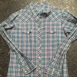 Wrangler Western Shirt with Pearl Snaps